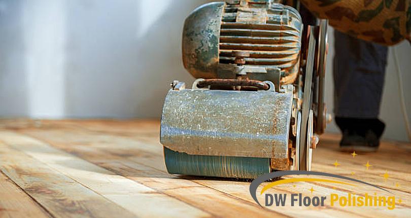 drum-sander-on-wooden-floor-wood-polishing-dw-floor-polishing-singapore_featured